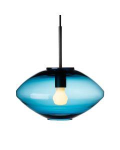 Taklampe 4280 Stålblå m. sort oppheng