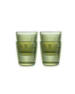 GLASS 20CL 4PK GRØNN